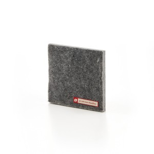 Acoustic textile felt 10mm wool slate